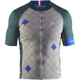 Craft Monument Bike Jersey Shortsleeve Men grey/green